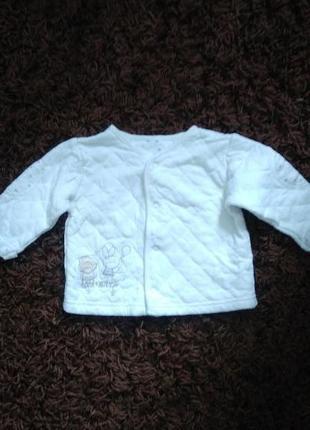 Куртка на теплую весну для малыша  3-6 месяцев. будет дольше.