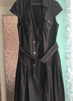 Платье-сарафан женское делового стиля от petro soroka