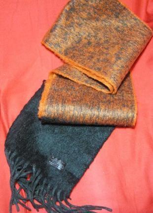 Очень теплый валяный шарф 20х180
