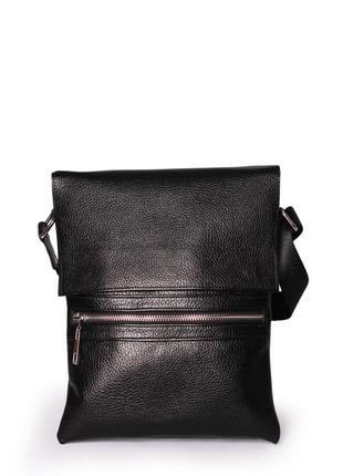 Акция! стильная кожаная мужская сумка. 100% натуральная кожа