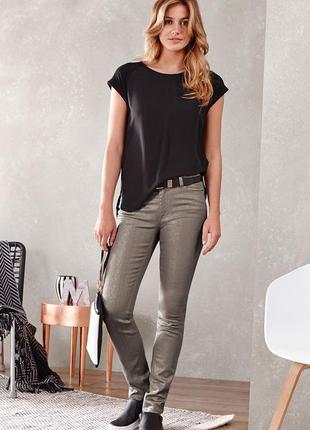 Джинсовые штаны брюки slim fit от тсм tchibo