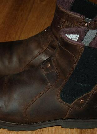 Кожаные ботинки 39,5 р timberland хорошее состояние