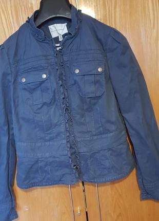 Милая джинсовая курточка пиджак от banana republic