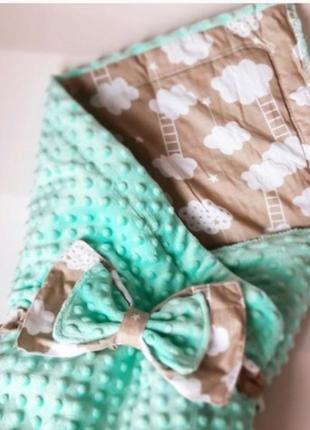 Уютный и красивый детский плед - одеяло