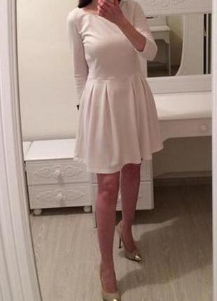 Трикотажное платье ✨