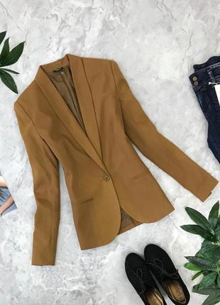 Классический пиджак на одну пуговицу со шлицей  jc1851070 cubus