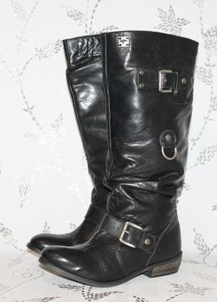 Распродажа!новые кожаные сапоги kangaroos 37 размер 24 см стелька
