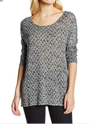 Кофта пуловер  оверсайз удлиненный vero moda вискоза