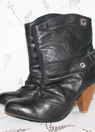 Распродажа!новые кожаные ботинки kangaroos 38 размер 24,5 см стелька