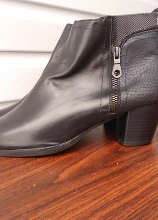 Кожаные ботинки marco tozzi.размер 40-й...