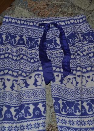 Фирменные пижамные штаны домашние