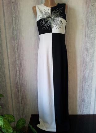 Платье в пол. simon ellis р 12