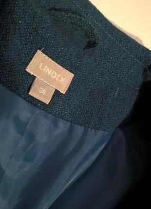 Элегантный жакет пиджак с поясом акрил/шерсть3