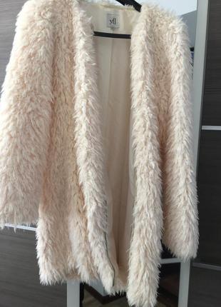 Шуба, кардиган из искусственного меха, пальто