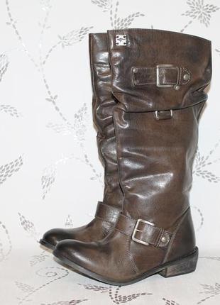Распродажа!кожаные сапоги kangaroos 36 размер 23 см стелька