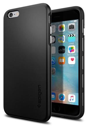 Чехол противоударный  для iphone 6 6s plus spigen thin fit hybrid новый