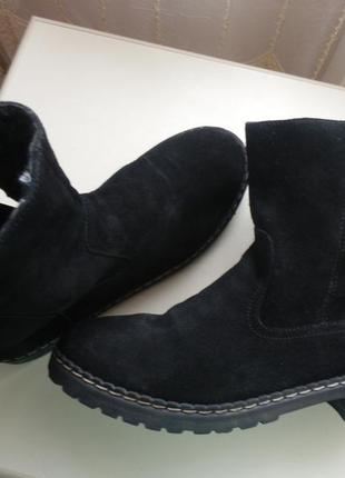 Замшевые ботинки medicus 40р 26см