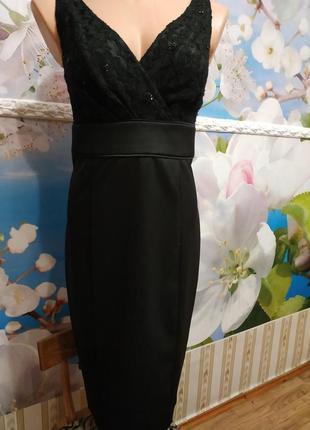 Невероятно женственное стильное  облегающее вечернее платье 12р