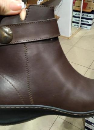 Кожаные ботинки зима новые 499 грн