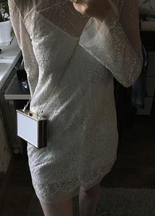 Платье в блестки
