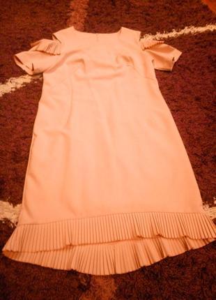 Нежнейшее пудровое платье