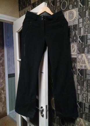 Salomon лыжные штаны горнолыжные теплые зимнии софтшел softshell фрирайд