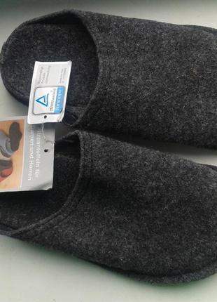 Брендові тапки войлокові ekwa handels 37 [німеччина] 23,5 см (тапочки)