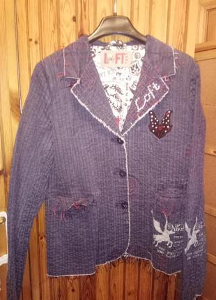 Джинсовая куртка loft торг