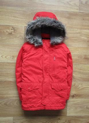 Куртка, 7 - 8лет, nutmeg, длина 56см, ширина 42см, рукав 44см.1 фото