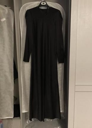 Шелковое платье длины макси lake studio размер 46