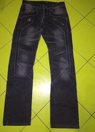 Классные джинсы на флисе