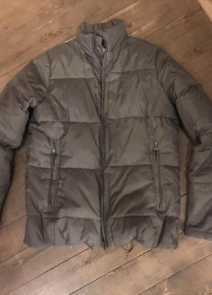 Крутая куртка пуховик broadway m
