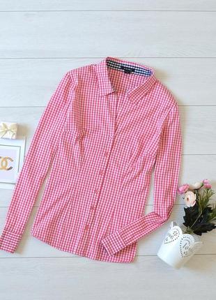 Стильна рубашка в клітинку amisu.