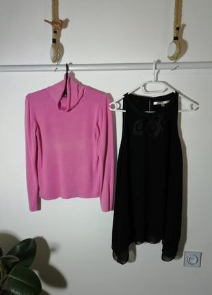 Шелковый гольф ann taylor в подарок майка блуза max studio