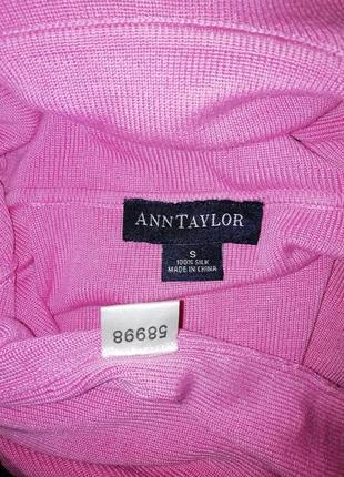 Шелковый гольф ann taylor в подарок майка блуза max studio5 фото