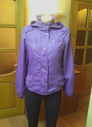 Куртка,ветровка,жакет на х/б подкладке.44-46р.бренд naf naf.