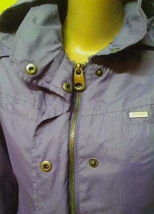 Куртка,ветровка,жакет на х/б подкладке.44-46р.бренд naf naf.3 фото