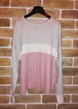 Тонкий свитер с расклешенным рукавом в пастельных тонах george