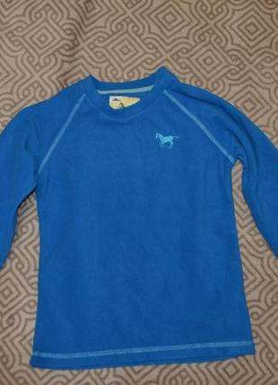 Флисовый свитер поддева crane 7-8 лет 122-128 англия