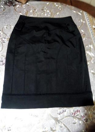 Красивая силуэтная юбочка