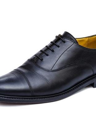 Кожаные туфли borelli. стелька 28 см