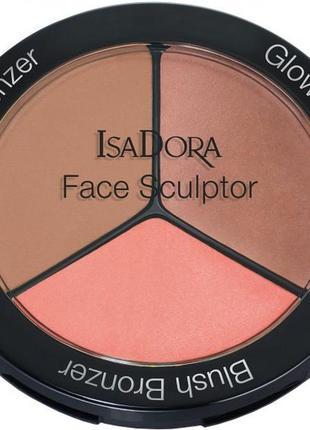 Палетка для скульптурирования лица isadora face sculptor