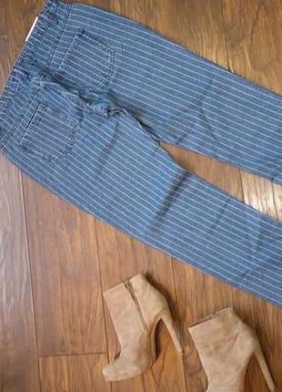 Бойфренды джинсы в полоску от missguided2 фото