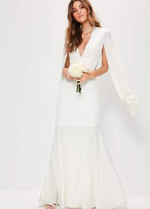 Свадебное платье от missguided