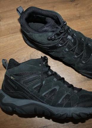 Водонепроницаемые ботинки merrell outmost mid ventilator gore-tex j09505, 44 размер