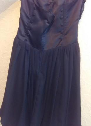 Шикарное новое коктейльное платье