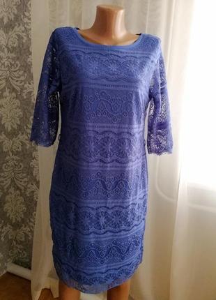 Гипюровое кружевное платье по фигуре