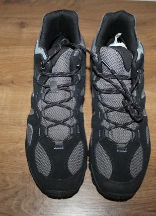 Водонепроницаемые ботинки merrell yokota 2 mid wp j46543 black, 48 размер