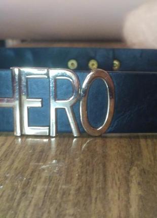 Ремень детский hero герой