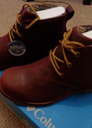 Новые зимние ботинки columbia chinook chukka boot wp waterproof